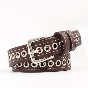 Ladies Belt Air Eye Hollow Fashion Women's Belt Jeans Decorative Belt NHPO183196's discount tags