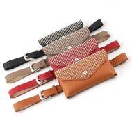 Bolso de la cintura agujero de cuerpo completo billetera de moda salvaje cinturón fino cinturón de doble propósito caja de la llave del teléfono móvil NHPO183197
