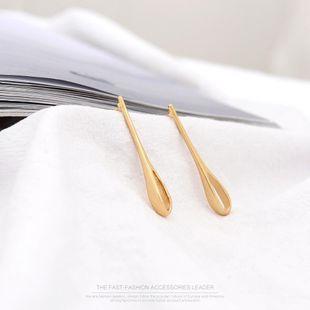 earrings water drop earrings fashion s925 silver earrings wholesale NHQS183227's discount tags
