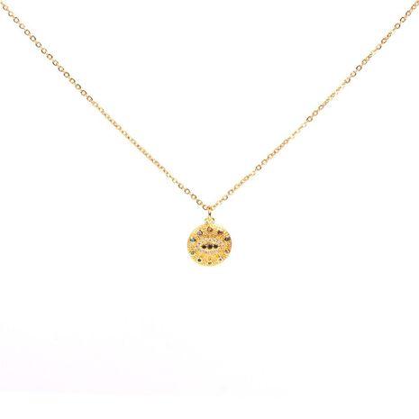 Nuevo collar colgante de ojo de diamante con microconjunto Devil's Eye NHPY183169's discount tags