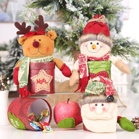 Suministros de decoración tarro de cartón tarro de dulces tarro de regalo para niños caja de galletas tarro de frutas NHHB183213's discount tags