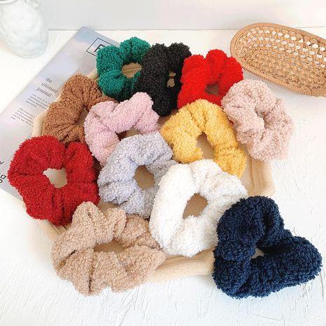 Banda de goma nuevos accesorios para el cabello hembra cabeza coreana cuerda bola de pelo de invierno conejo felpa anillo de pelo de intestino grueso NHOF183357's discount tags