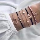 Bracelet Set Personality Star Moon Geometric Bracelet wholesales fashion NHJE183366