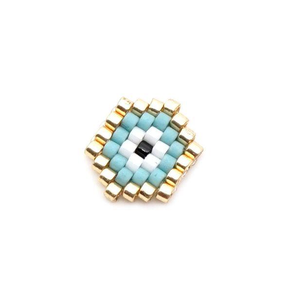 Classic Turkish Eye EVIL EYE Pattern Miyuki Wholesale NHGW185565