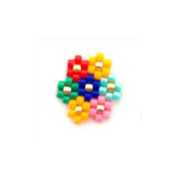 Miyuki new spot batch small flower pattern jewelry hand-woven NHGW185604