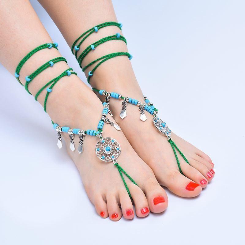 Bohemian Ethnic Footwear NHXR185500