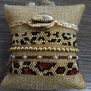 Personalized Lucky Eye Bracelet Miyuki Bead Woven Heart Bracelet NHGW185606's discount tags