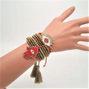 miyuki beaded eyes bracelet set for girls NHGW185607's discount tags