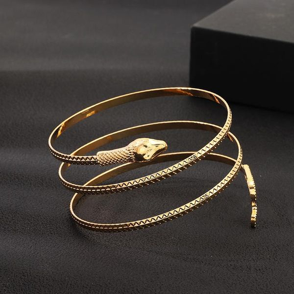 Jewelry Simple Fashion Snake Bracelet Popular Alloy Snake Element Bracelet NHNZ185903