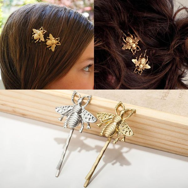 New Hair Accessories Jewelry Fashion Little Bee Hair Clip Side Clip Wholesale NHDP185747