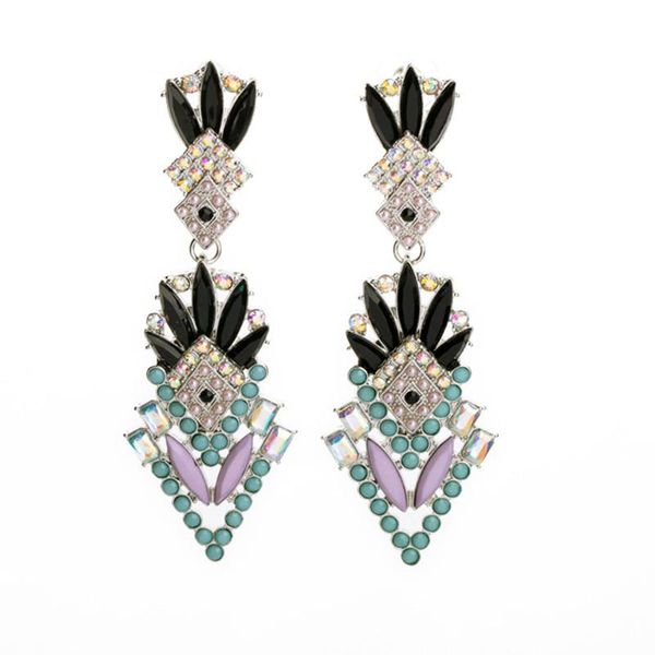 Fashion Jewelry Wholesale Exaggerated Luxury Women's Ear Studs NHQD185941
