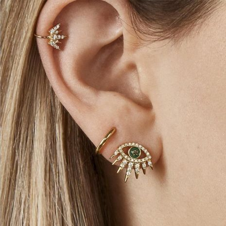 baub same alloy stud earring set NHJQ185848's discount tags