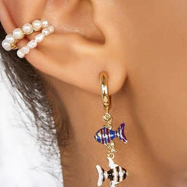 Earrings Popular Fish Earrings Accessories NHJQ185849
