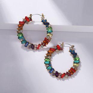 Bohemian Fashion Alloy Diamond Earrings NHJQ185852's discount tags
