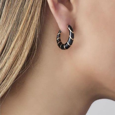 Alloy Dripping Earrings Bohemian Fashion Candy Color Earrings NHJQ185863's discount tags