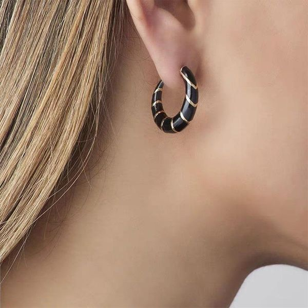 Alloy Dripping Earrings Bohemian Fashion Candy Color Earrings NHJQ185863