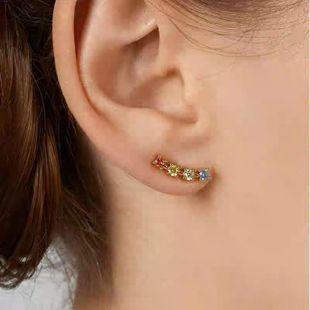 Alloy diamond fashion earrings wholesales fashion NHJQ185878's discount tags