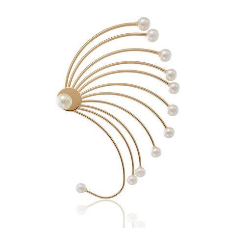 Aretes para mujer de perlas irregulares al por mayor de moda NHGY185796's discount tags
