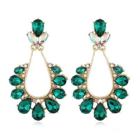 Fashion jewelry earrings vintage alloy diamond earrings women wholesale NHVA185992's discount tags