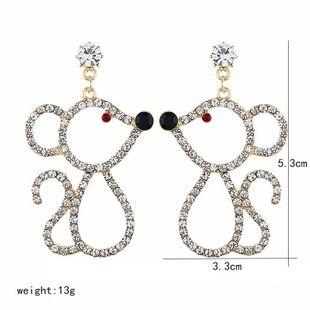 Fashion new earrings women mouse earrings earrings NHVA186001's discount tags