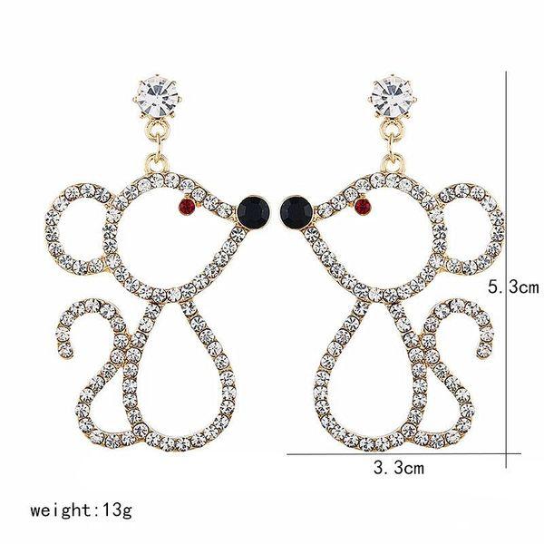 Fashion new earrings women mouse earrings earrings NHVA186001