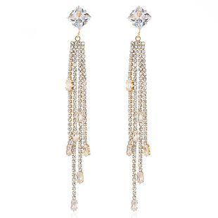 New earring fashion long tassel earrings personalized alloy earrings NHVA186002's discount tags