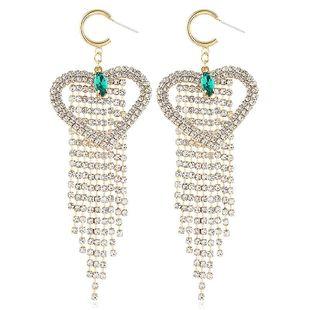 Korean version of the new alloy tassel earrings NHVA186007's discount tags
