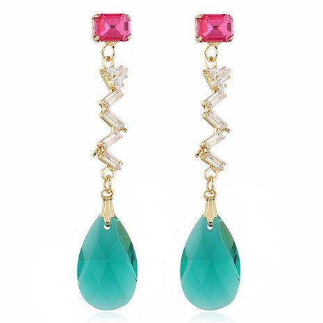 Fashion simple pendant earrings women accessories wholesale wild earrings NHVA186014's discount tags