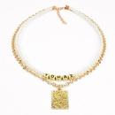 Jewelry alphabet word combination necklace women NHCT185772