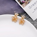 Long diamond earrings fashion flower earrings female wild tassel earrings wholesale NHQD185966