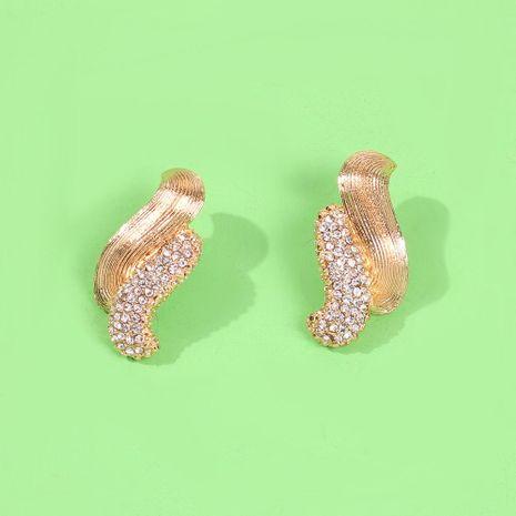 Pendientes joyas pendientes de diamantes geométricos simples NHMD186054's discount tags