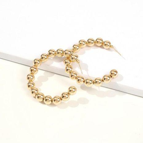 Pendientes de círculo de moda temperamento círculo pendientes grandes calientes mujeres NHMD186064's discount tags