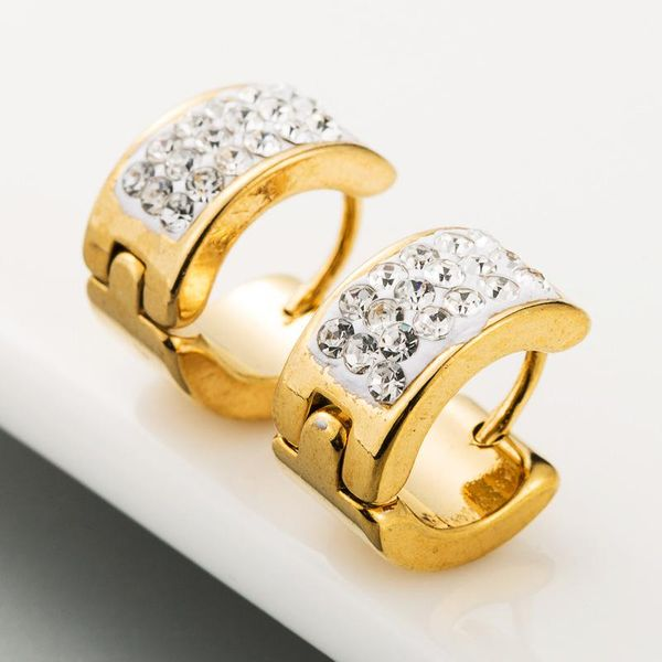 Hot sale stainless steel earrings for men and women punk small earrings NHLN186068