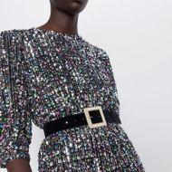 Alloy Diamond Pearl Gold Velvet Belt Fashion Belt Winter New Clothing Accessories NHJQ185846