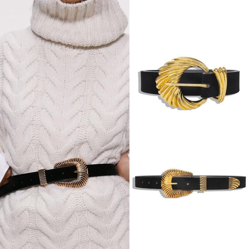 Alloy Velvet Belt Trendy Fashion Accessories Simple Belt NHJQ185847