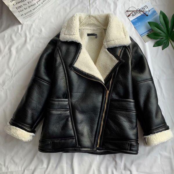 Wholesale winter lapel fur all-in-one women's fur coat NHAM186221
