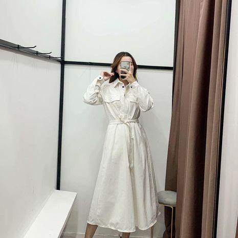 Invierno al por mayor era el vestido de manga larga temperamento delgado NHAM186150's discount tags