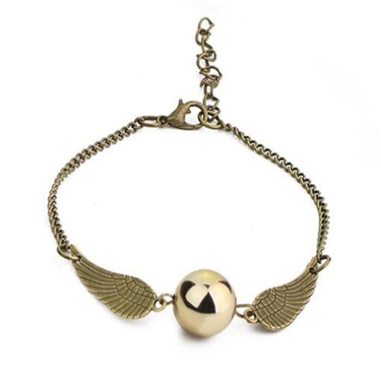 Harry Potter Gold Sniper Bracelet NHIM186402