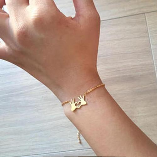 Hot Sale New Caring Palm Slap Palm Bracelet For Men And Women NHCU186573