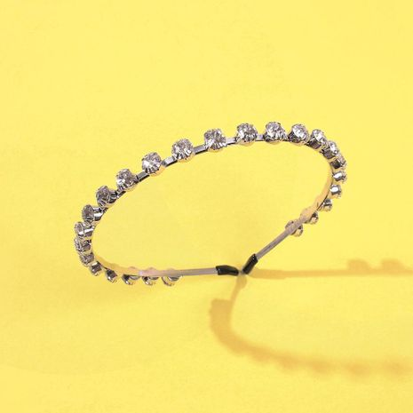 Simple new diamond hair accessories headband eye-catching pressure headband women NHMD186625's discount tags