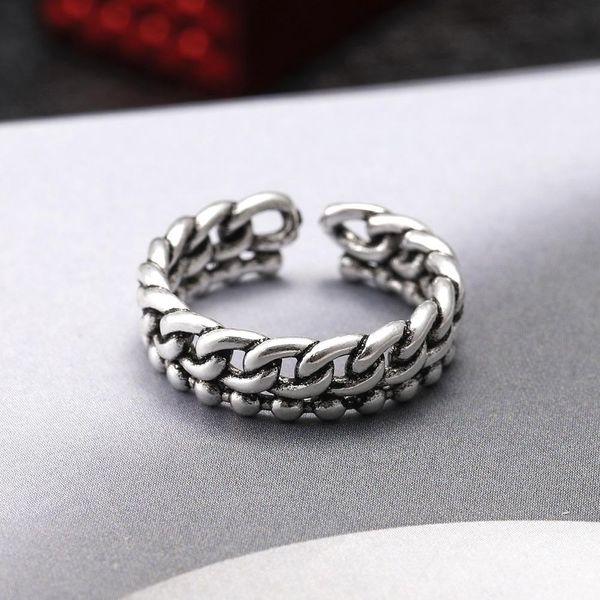 Ring wholesale ring 925 silver vintage plain silver ring NHIM186391