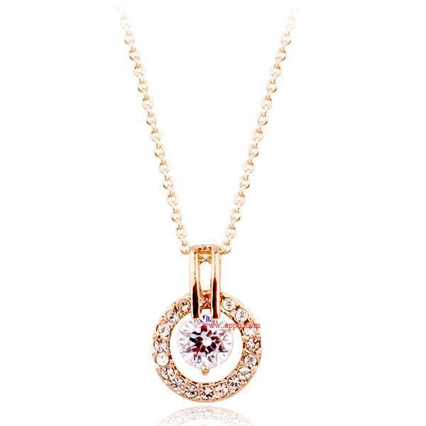 Diamond ring pendant NHLJ186436