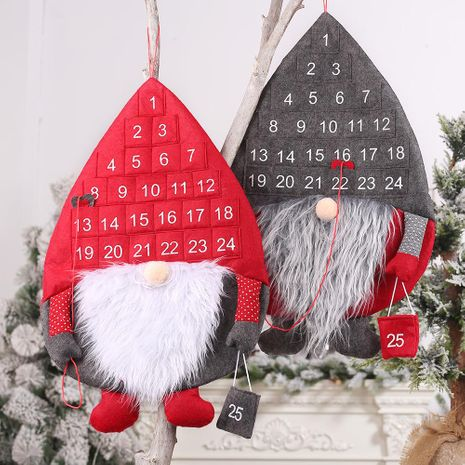 New Christmas Decorations Wall Calendar Rudolph Countdown Calendar Creative Wall Calendar NHHB186128's discount tags