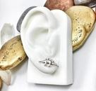 Best selling little dinosaur earrings environmental protection alloy plating gold silver rose earrings NHCU186597