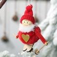 NHHB507415-Pompom-doll-ski-small-hanging-red