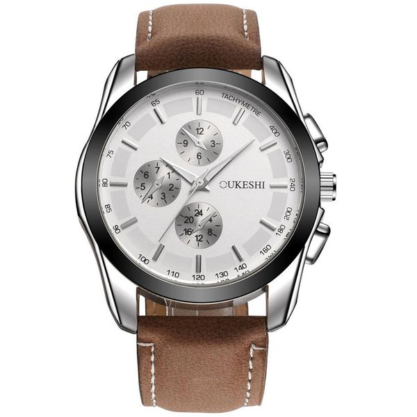 Men's Watch Frosted Belt Business Watch Men's Casual Quartz Watch NHMM186730