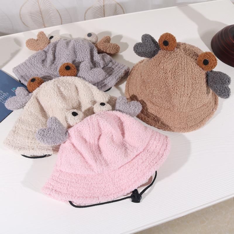 Children hat autumn and winter corduroy boy hat baby fisherman hat tide NHHY186798