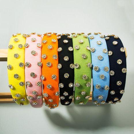 Fashion thin sponge hair hoop women NHLN186930's discount tags