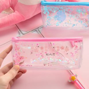 Large capacity pencil case cute cartoon stationery box girl heart pencil case student stationery wholesale NHHE186846's discount tags