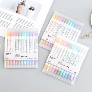 12-color double-headed highlighter set NHHE186891's discount tags